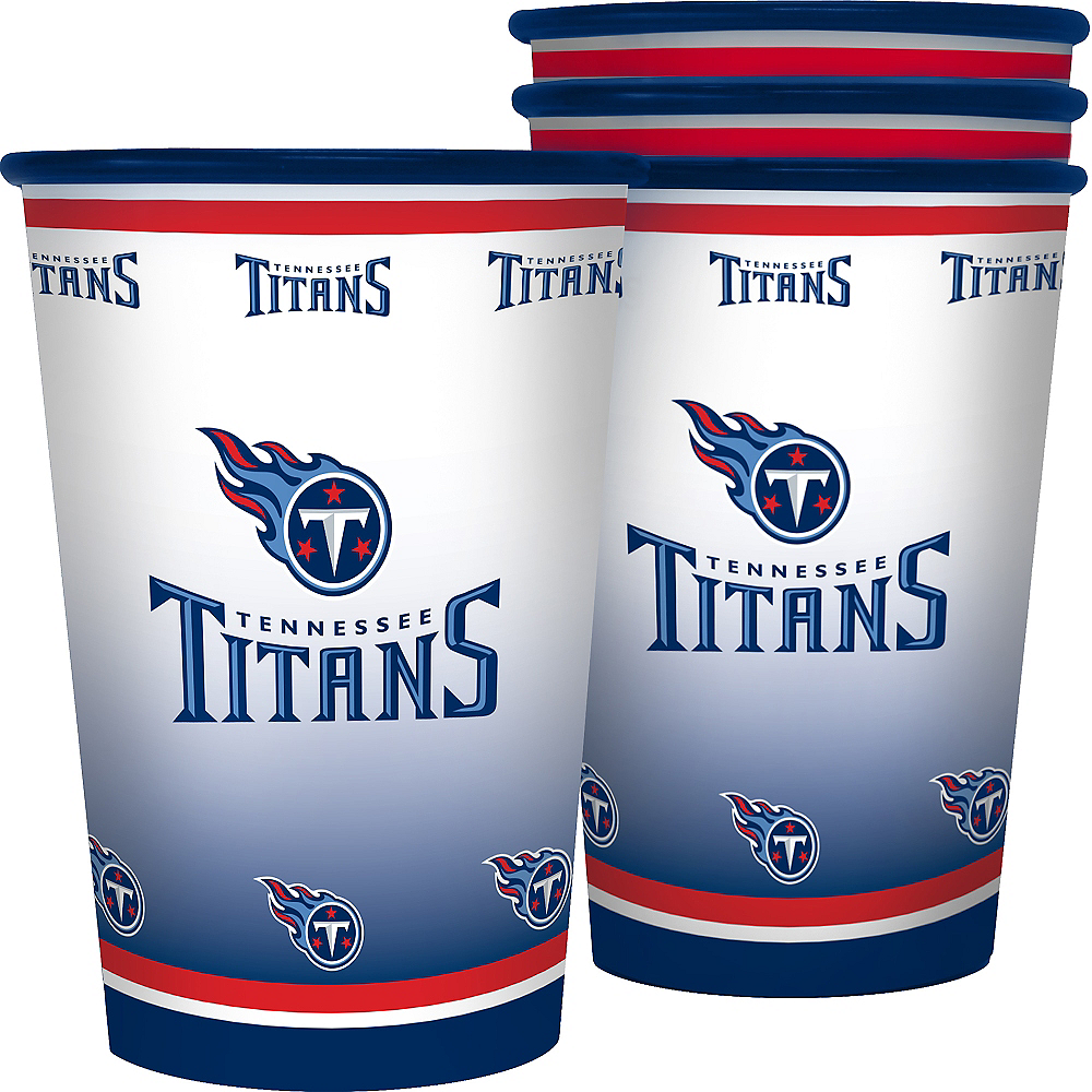 Tennessee Titans Tumblers 4ct Image #1