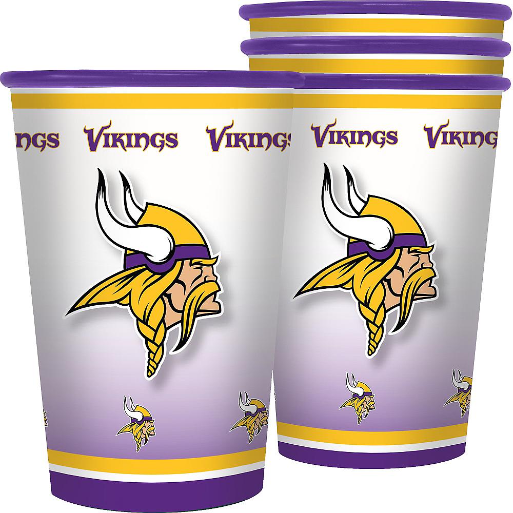 Minnesota Vikings Tumblers 4ct Image #1