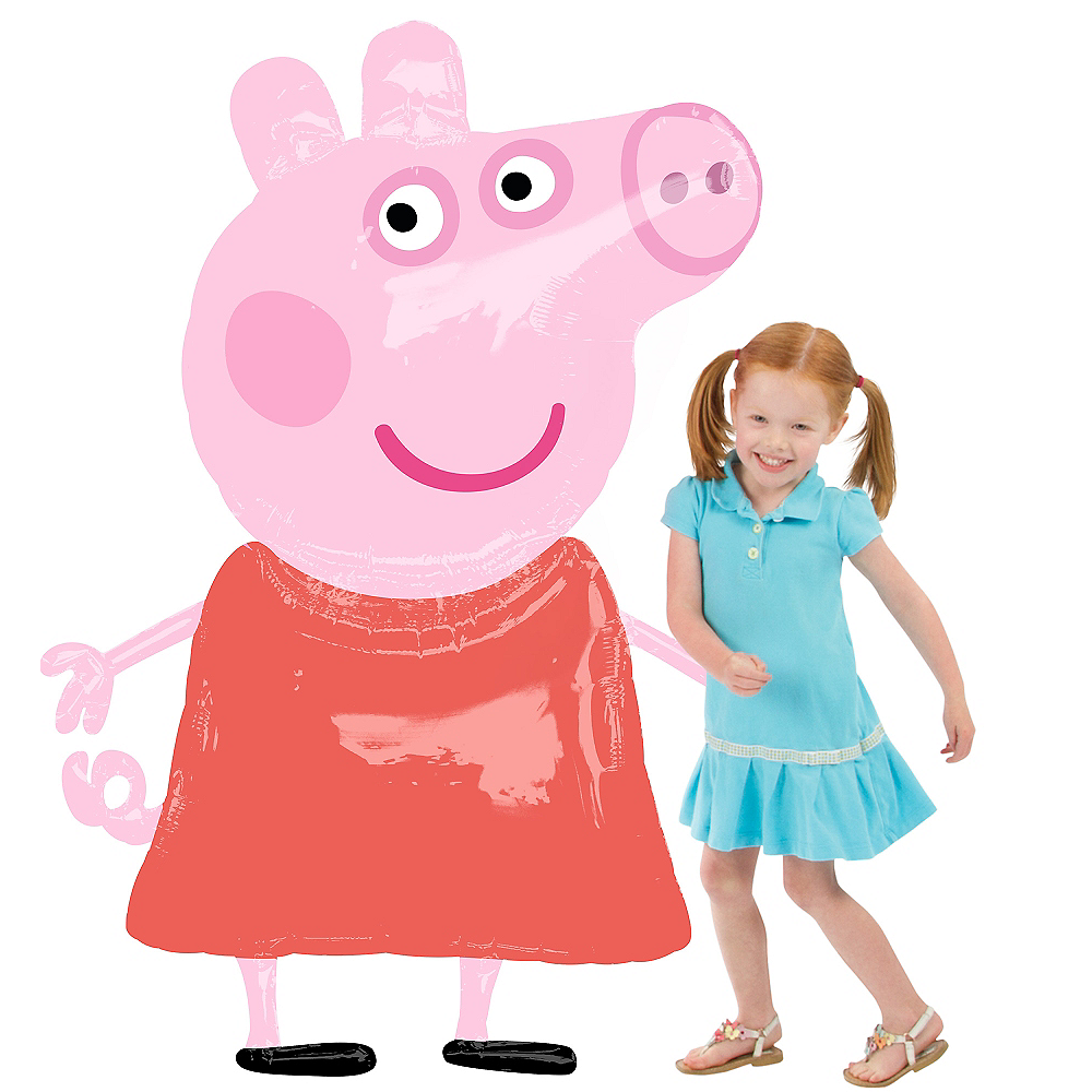 Peppa Pig Balloon - Giant Gliding, 48in Image #1