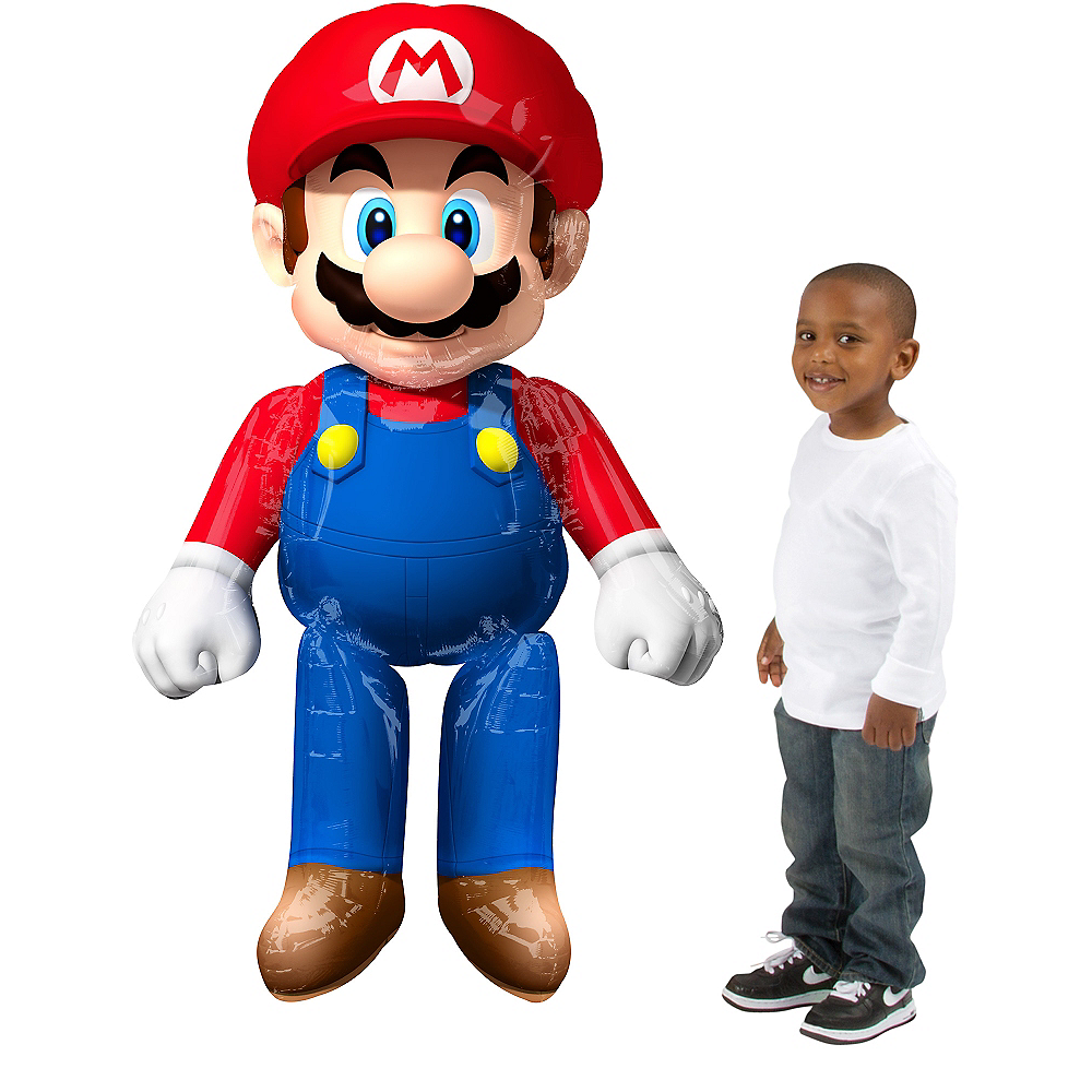 Super Mario Balloon - Giant Gliding, 60in Image #1