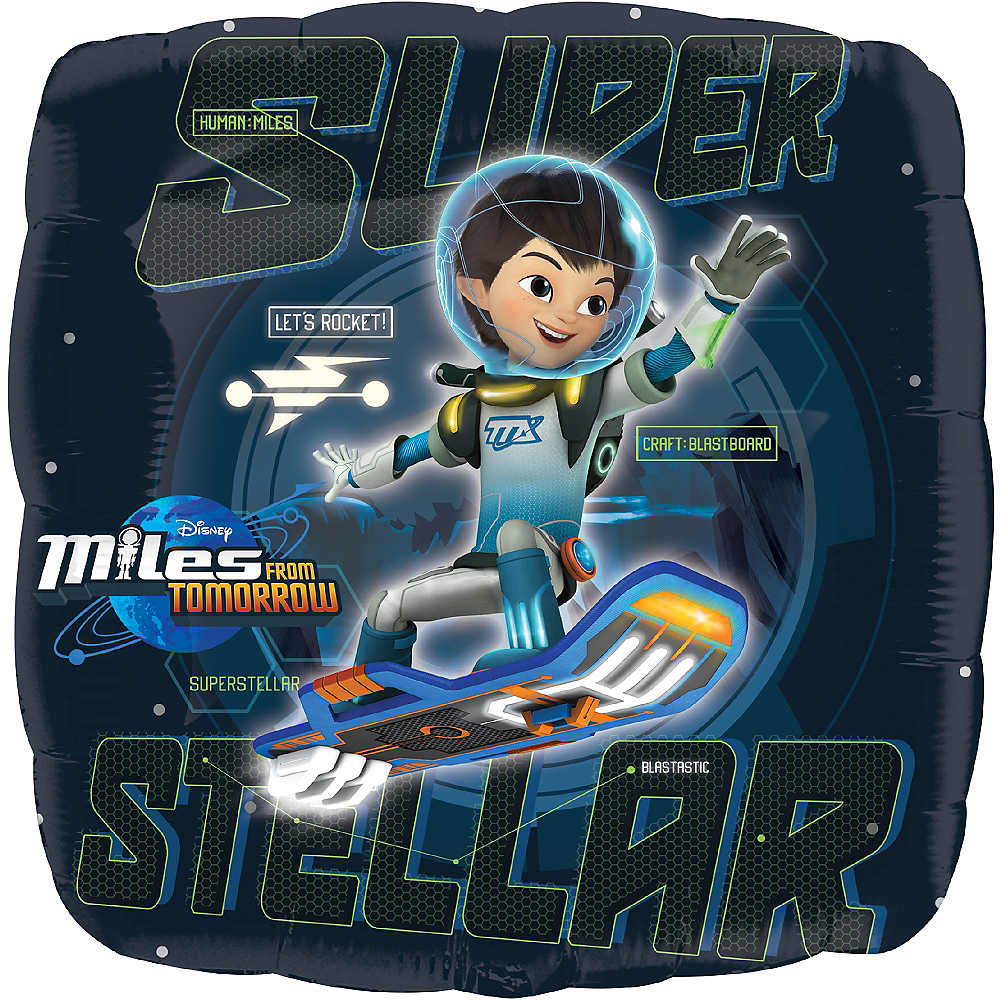 Nav Item for Miles from Tomorrowland Balloon, 18in Image #1