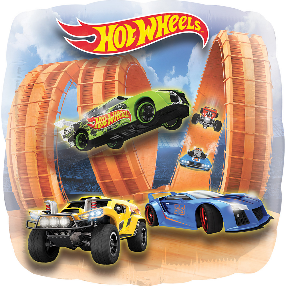 Hot Wheels Balloon - Giant, 28in Image #1