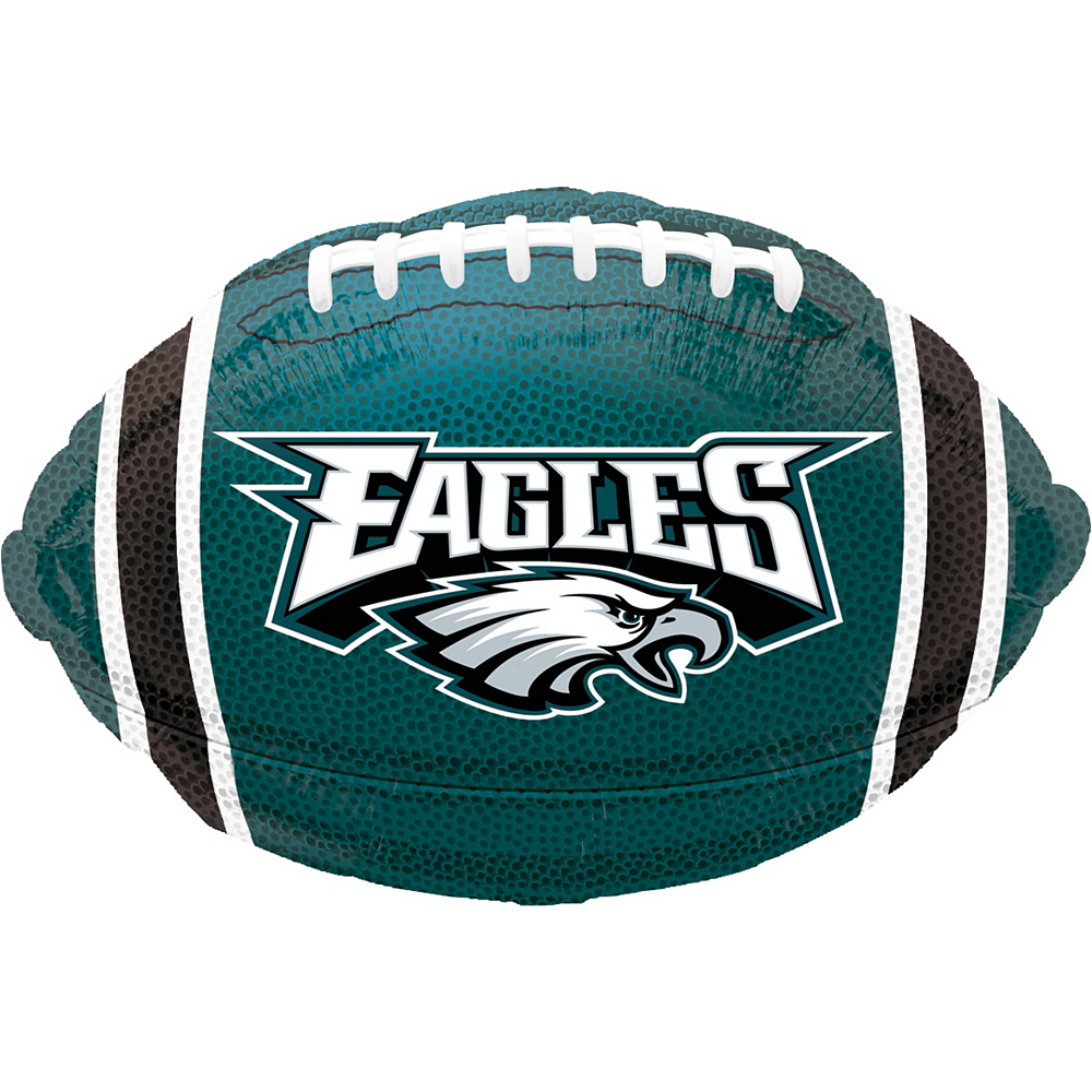 Philadelphia Eagles Balloon 17in x 12in - Football  849bdba48