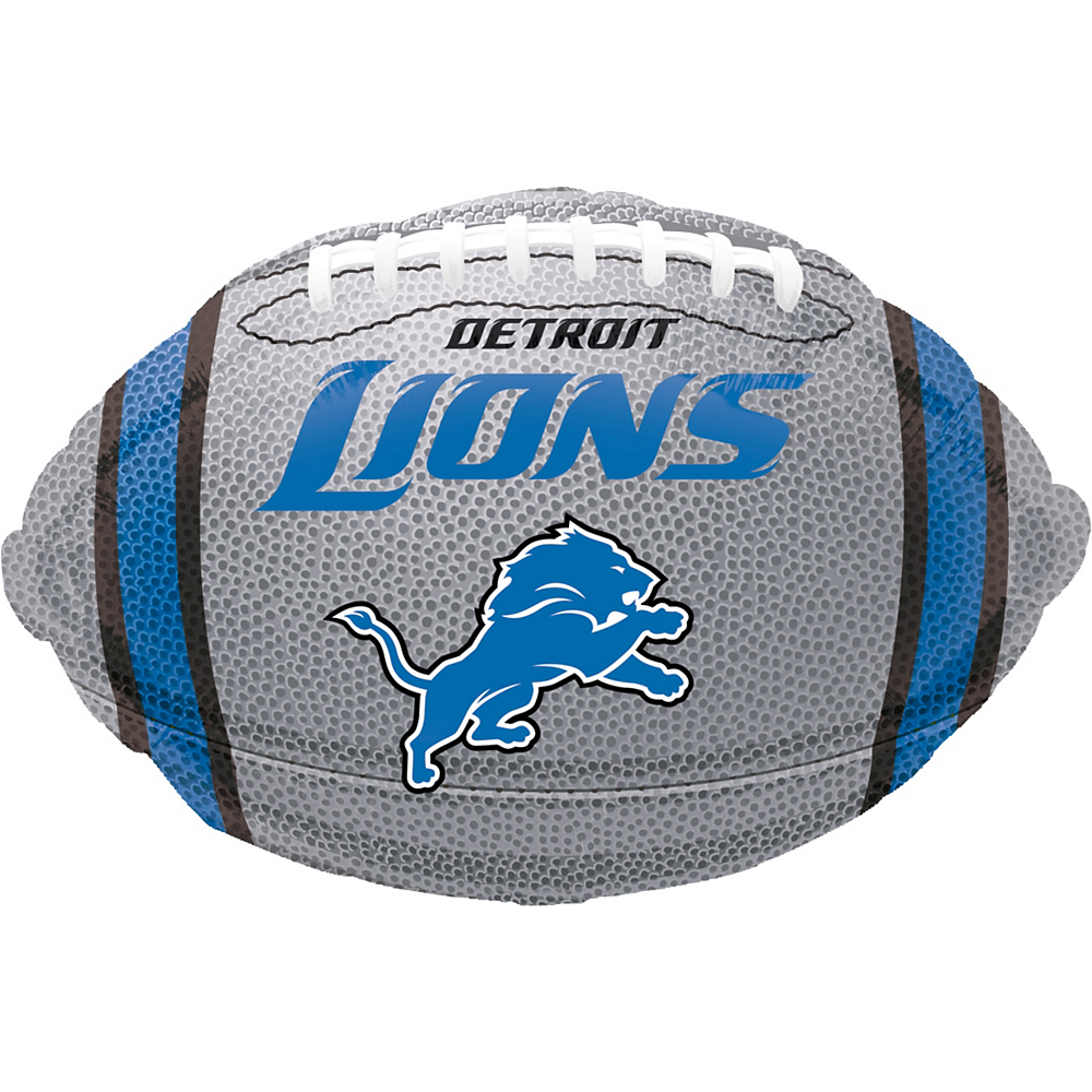 Nav Item for Detroit Lions Balloon - Football Image #1