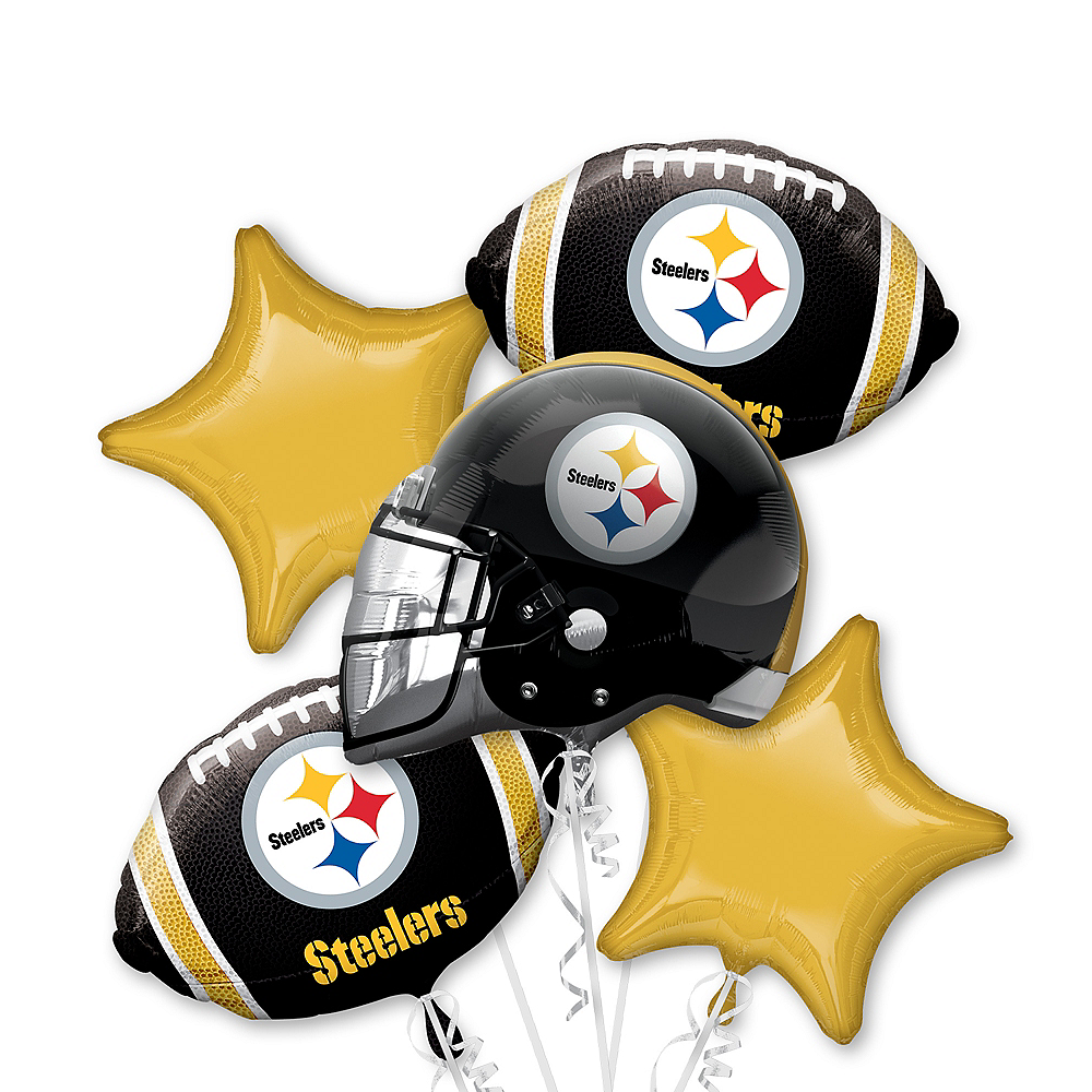Steelers Bouquet Pittsburgh 5pc Balloon|Know Who Else Has Massive Palms?