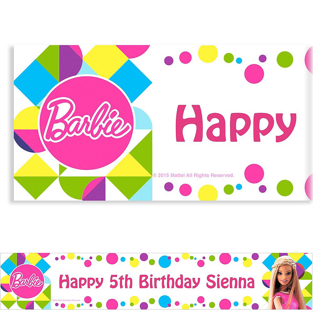 Custom Barbie Sparkle Banner Image #1