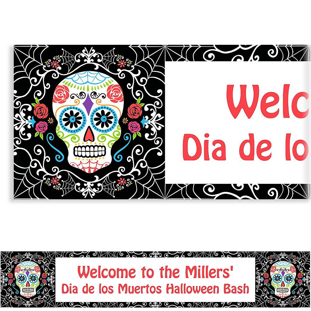 Custom Day of the Dead Banner Image #1