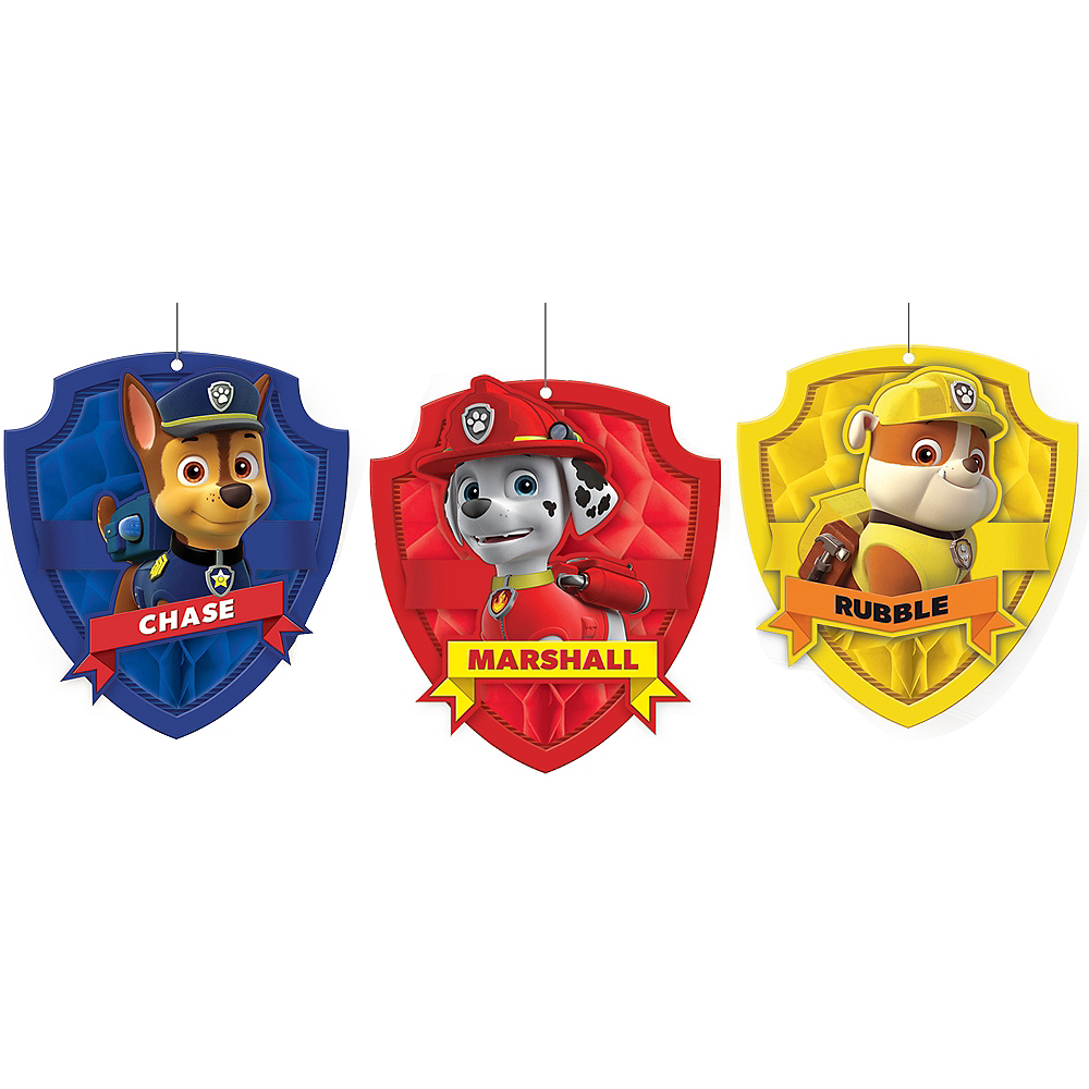Nav Item for PAW Patrol Honeycomb Balls 3ct Image #1