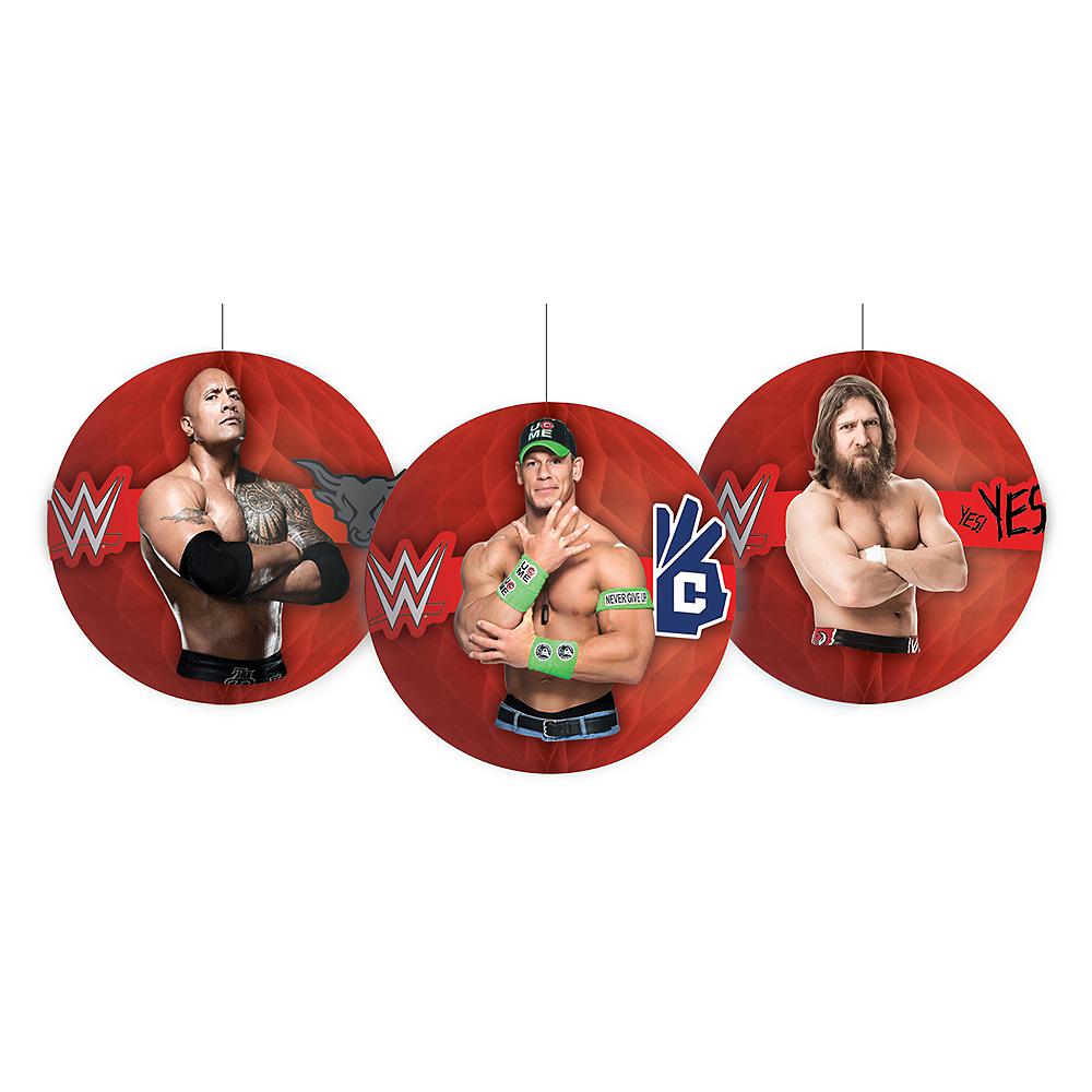 WWE Honeycomb Balls 3ct Image #1