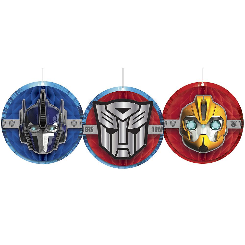 Transformers Honeycomb Decorations 3ct Image #1