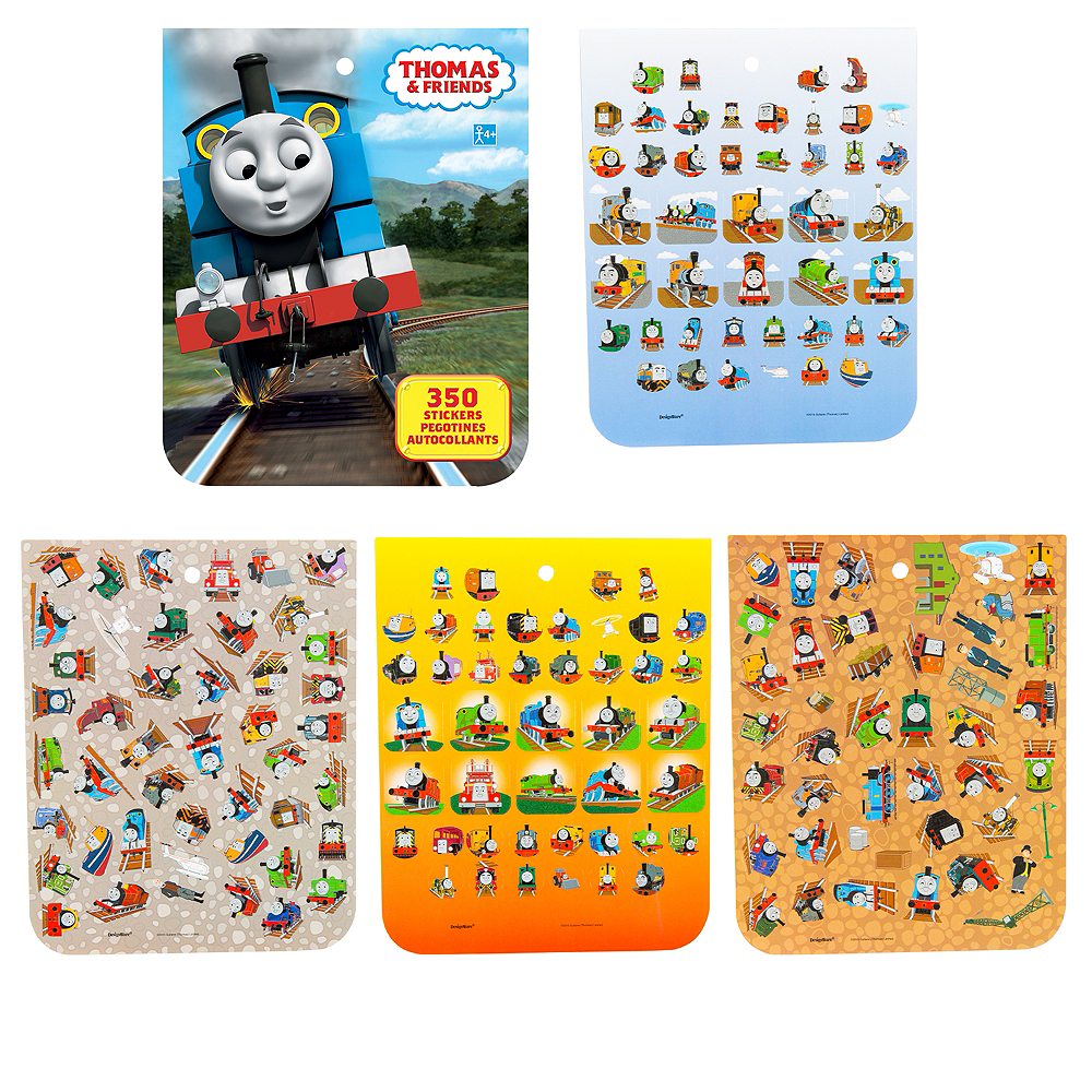 Jumbo Thomas the Tank Engine Sticker Book 8 Sheets Image #1