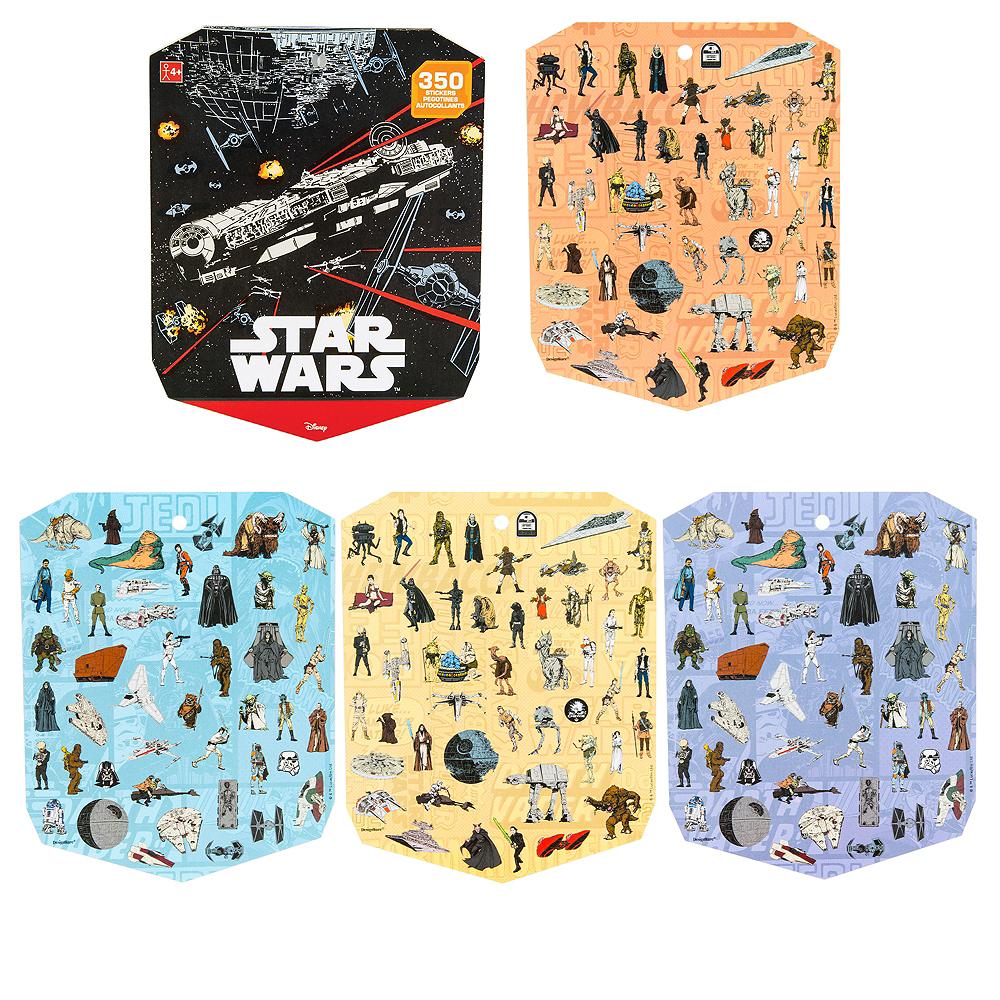 Jumbo Star Wars Sticker Book 8 Sheets Image #1