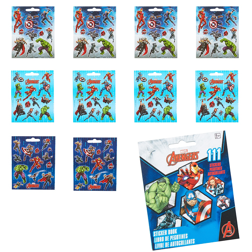 Avengers Sticker Book 9 Sheets Image #1