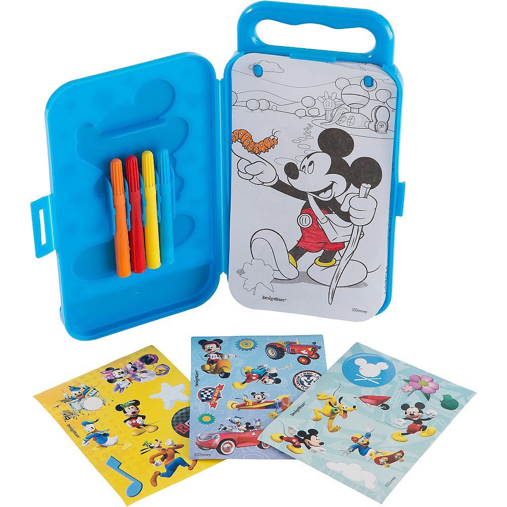 Mickey Mouse Sticker Activity Box Image #2