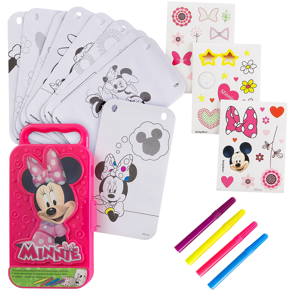 Minnie Mouse Sticker Activity Box Image #1
