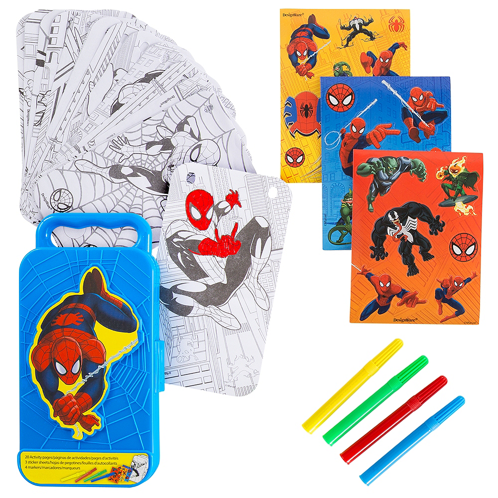 Spider-Man Sticker Activity Box Image #1