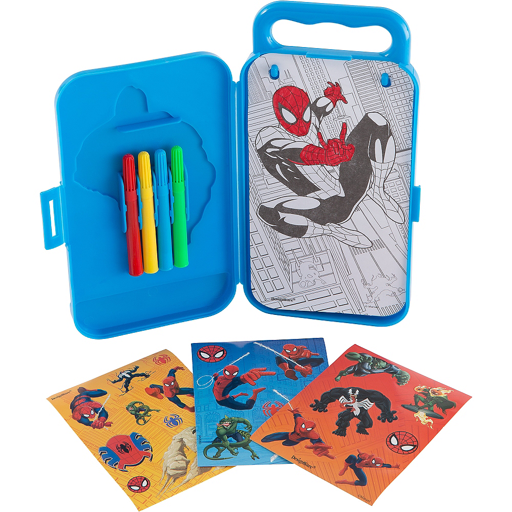 Spider-Man Sticker Activity Box Image #2