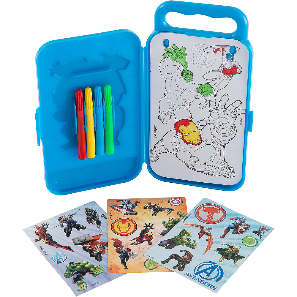 Avengers Sticker Activity Box Image #2