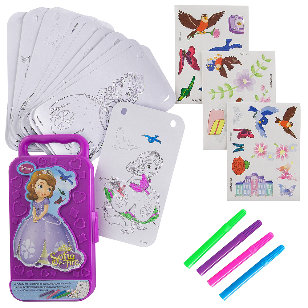 Sofia the First Sticker Activity Box Image #1