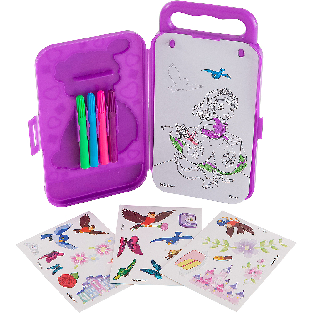 Sofia the First Sticker Activity Box Image #2