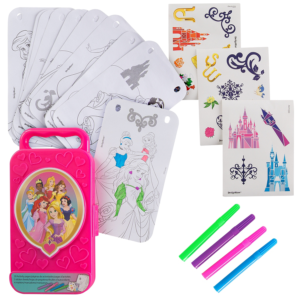 Disney Princess Sticker Activity Box Image #1