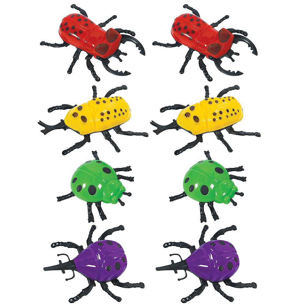Wall Climber Bugs 8ct Image #1