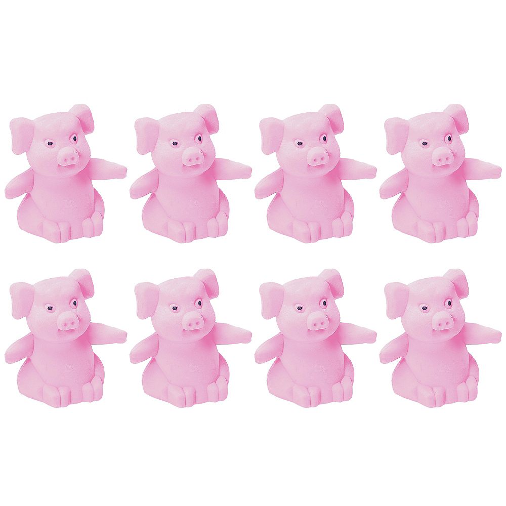 Nav Item for Pink Pig Erasers 8ct Image #1