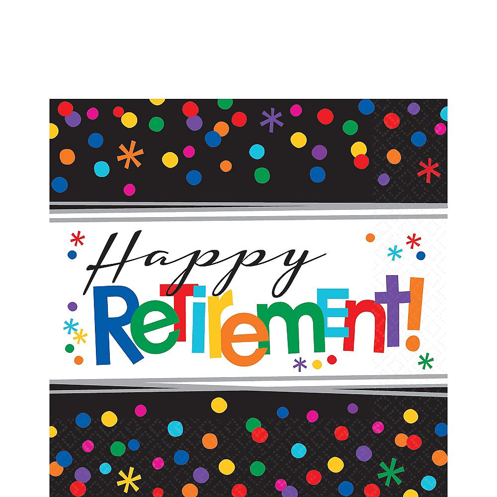 Happy Retirement Celebration Lunch Napkins 16ct Image #1