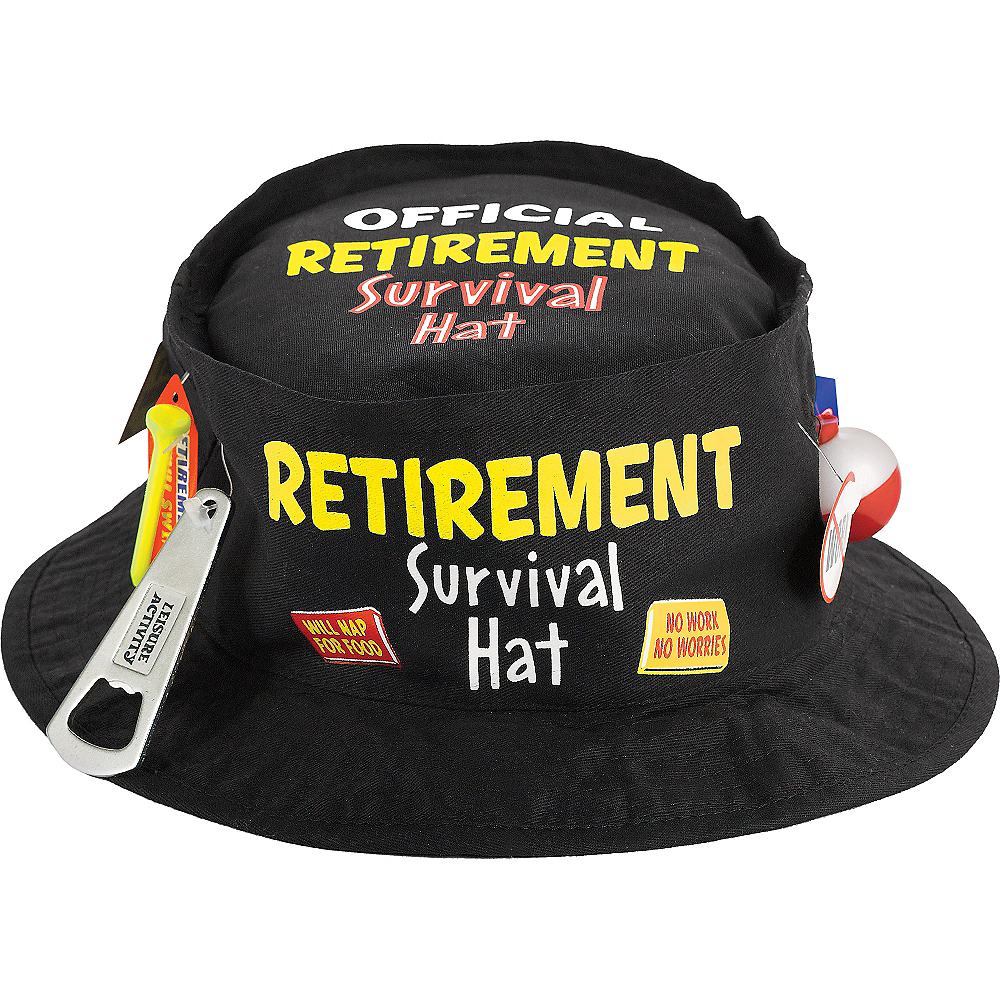 Happy Retirement Celebration Bucket Hat Image #1