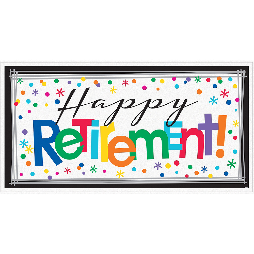 Nav Item for Happy Retirement Celebration Banner Image #1