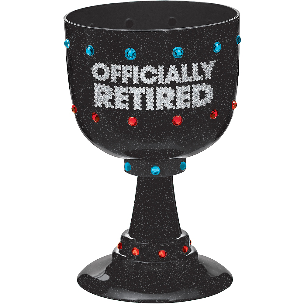 Nav Item for Happy Retirement Celebration Goblet Image #1