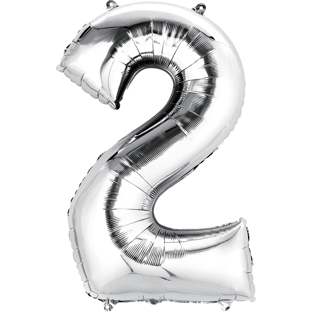 Frozen 2nd Birthday Balloon Bouquet 5pc Image #3