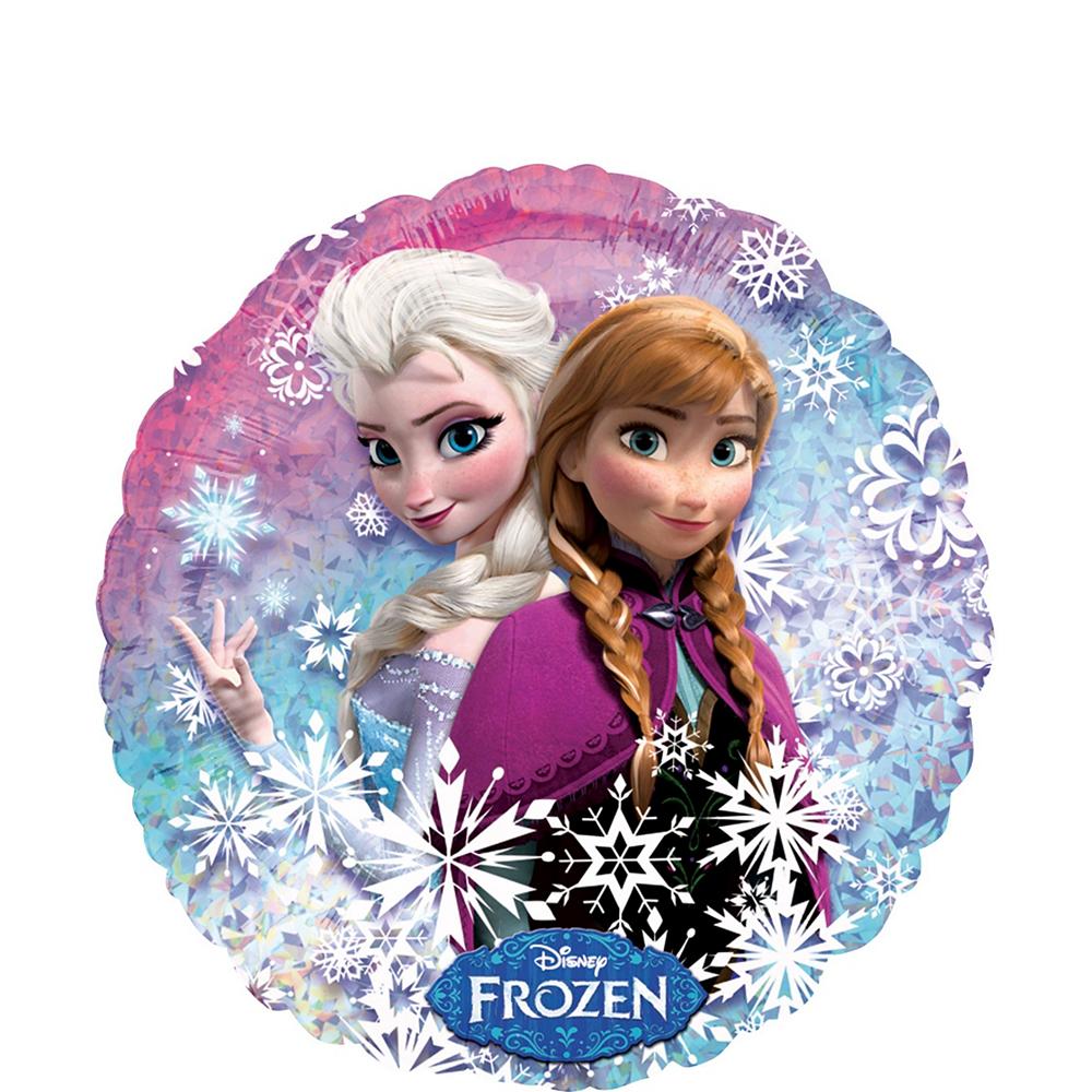 Frozen 2nd Birthday Balloon Bouquet 5pc Image #4