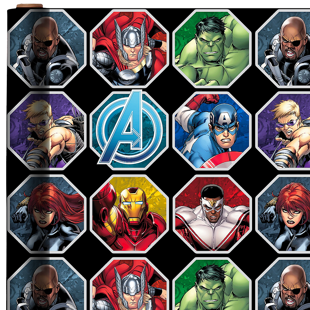 Avengers Age of Ultron Gift Wrap Image #1