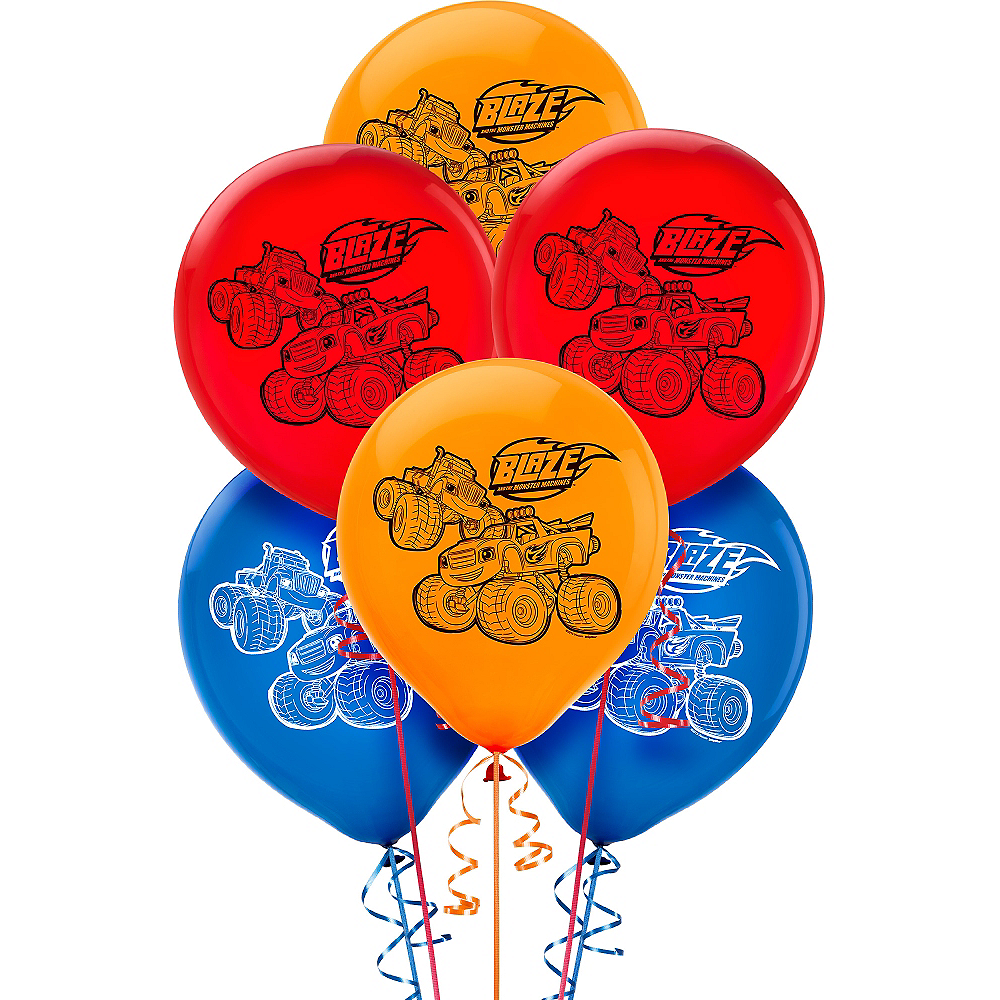 Blaze and the Monster Machines Balloons 6ct Image #1