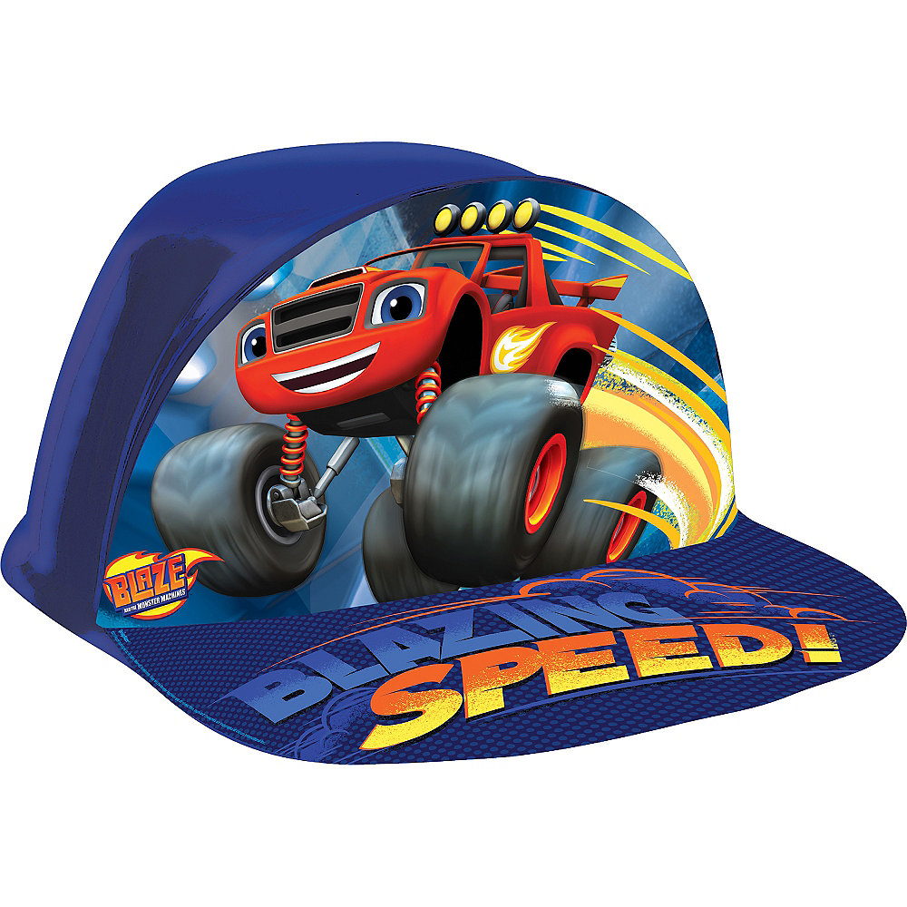 Blaze and the Monster Machines Plastic Hat Image #1