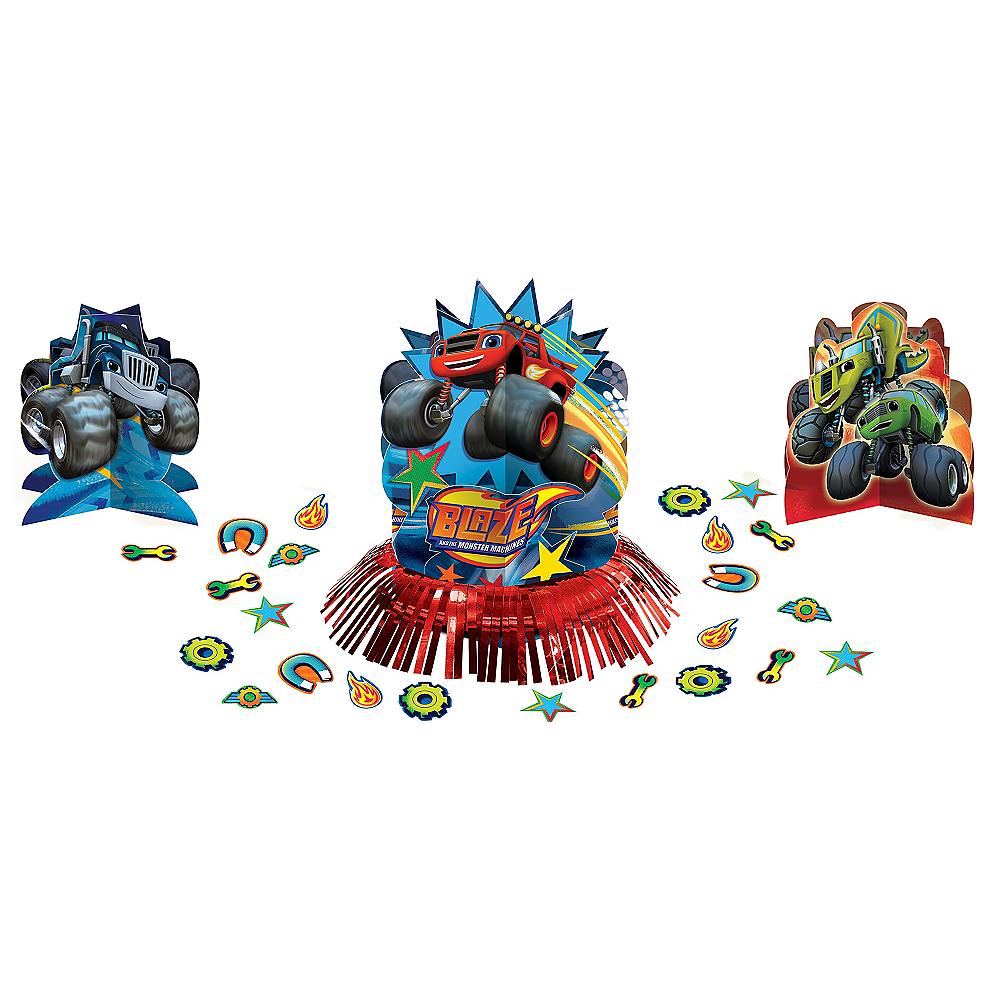 Blaze and the Monster Machines Table Decorating Kit 23pc Image #1