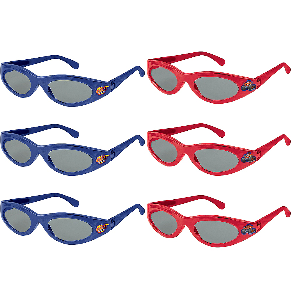 Blaze and the Monster Machines Sunglasses 6ct Image #1