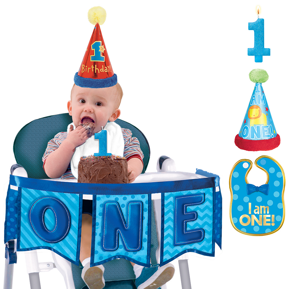 All Aboard 1st Birthday Smash Cake Kit Image 1