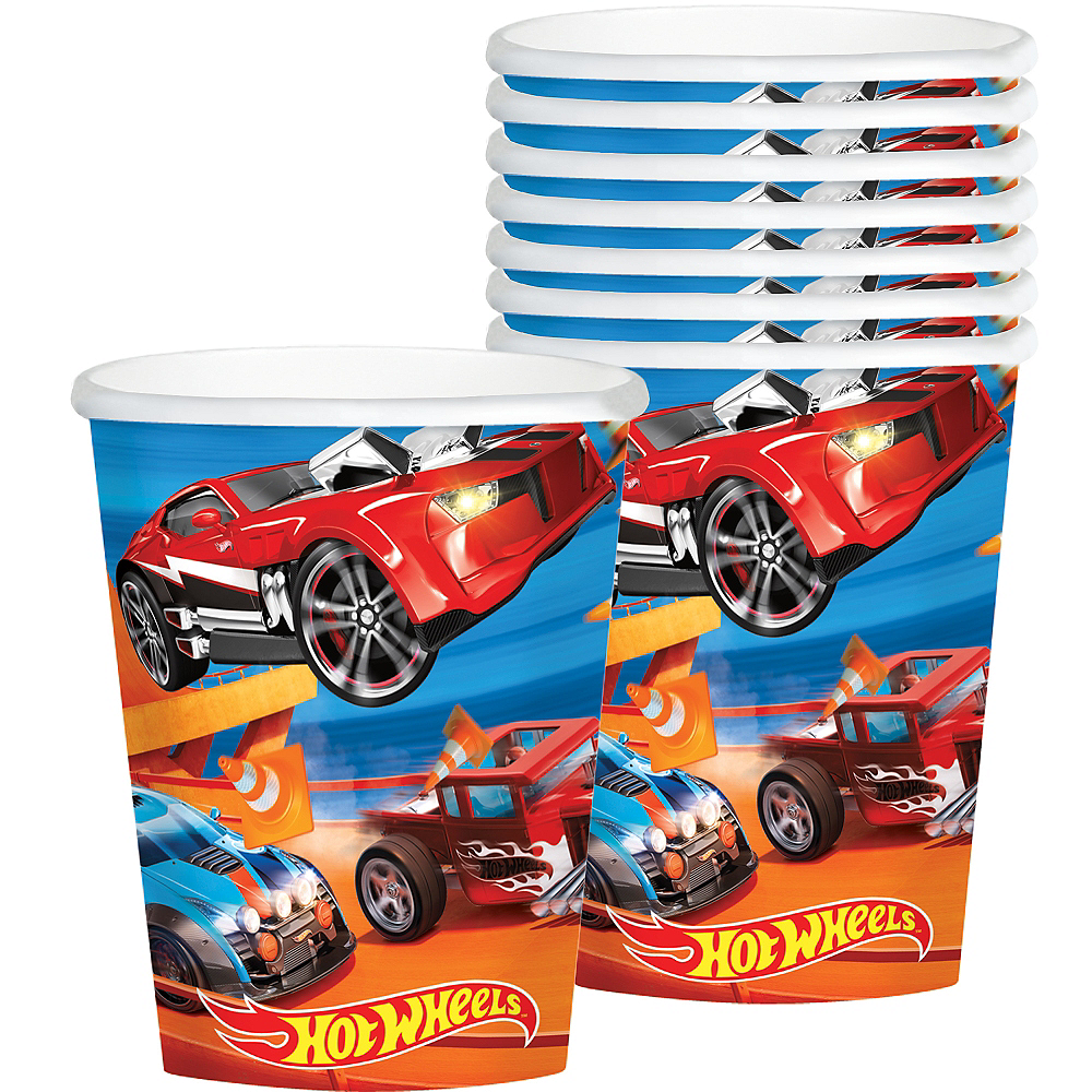 Nav Item for Hot Wheels Cups 8ct Image #1