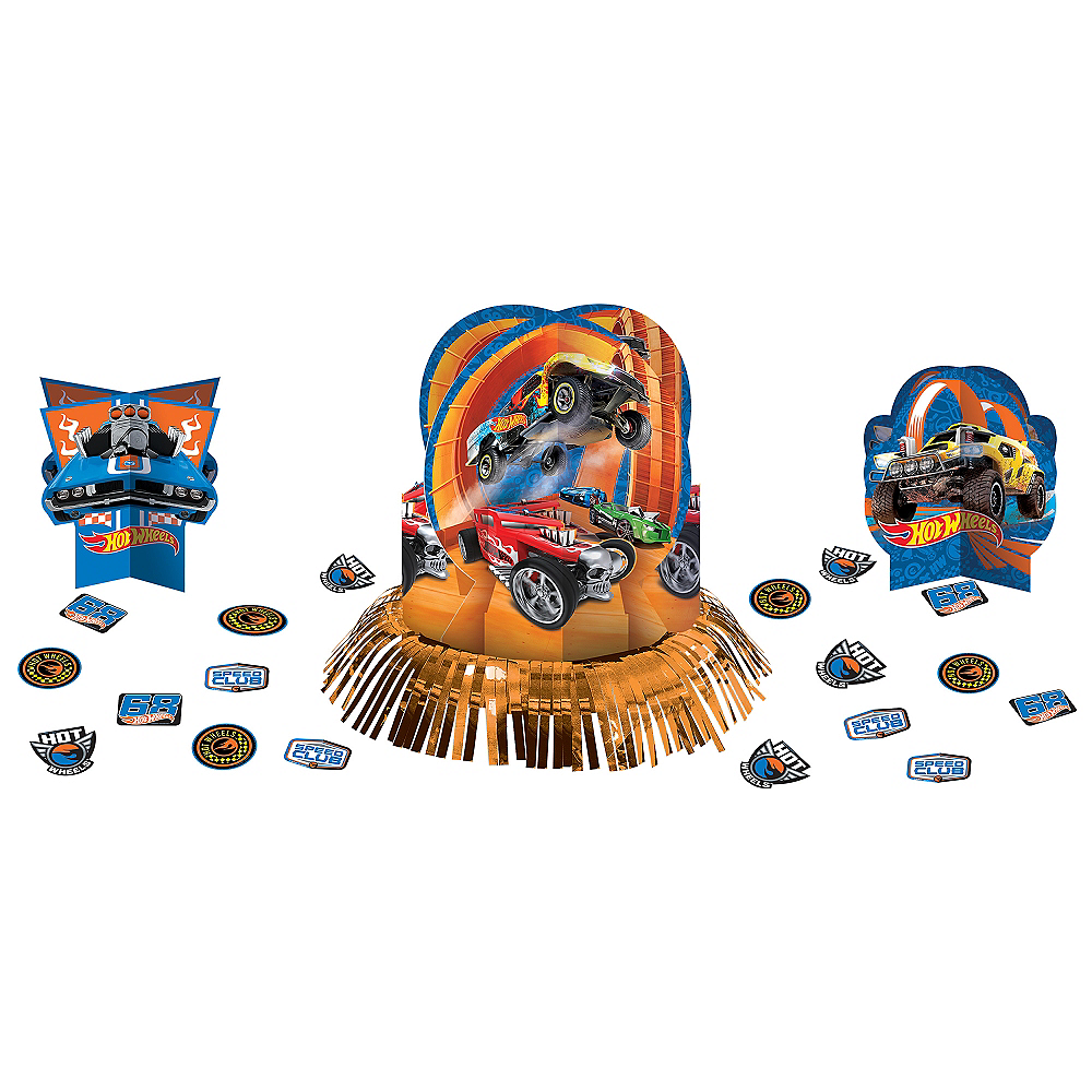 Hot Wheels Table Decorating Kit 23pc Image #1