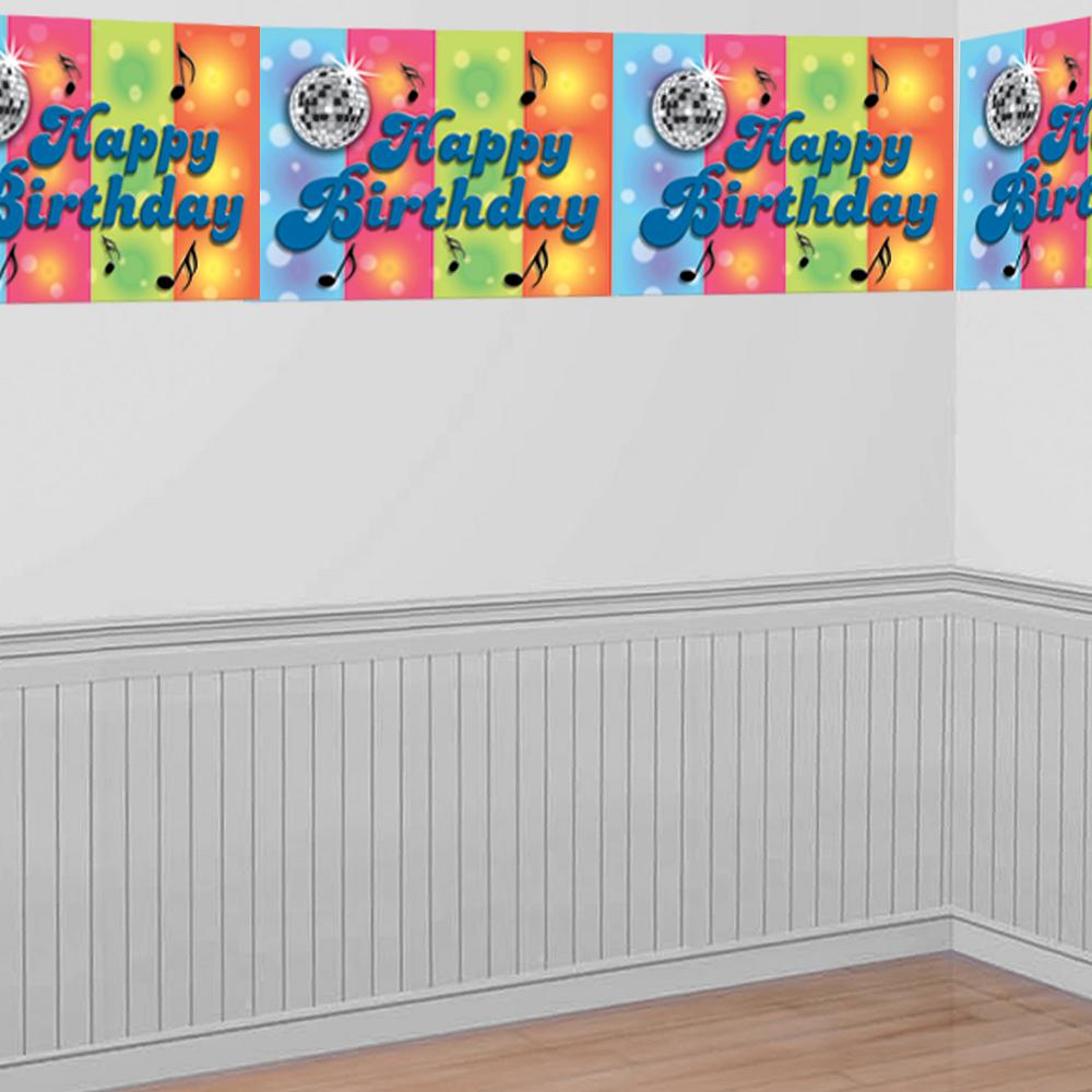 Rainbow Balloon Bash Room Roll  Image #1