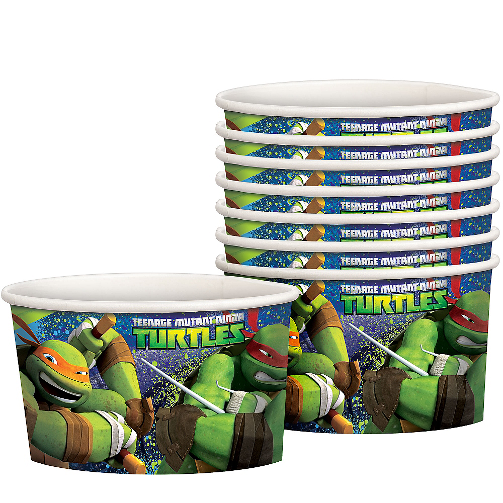 Teenage Mutant Ninja Turtles Treat Cups 8ct Image #1