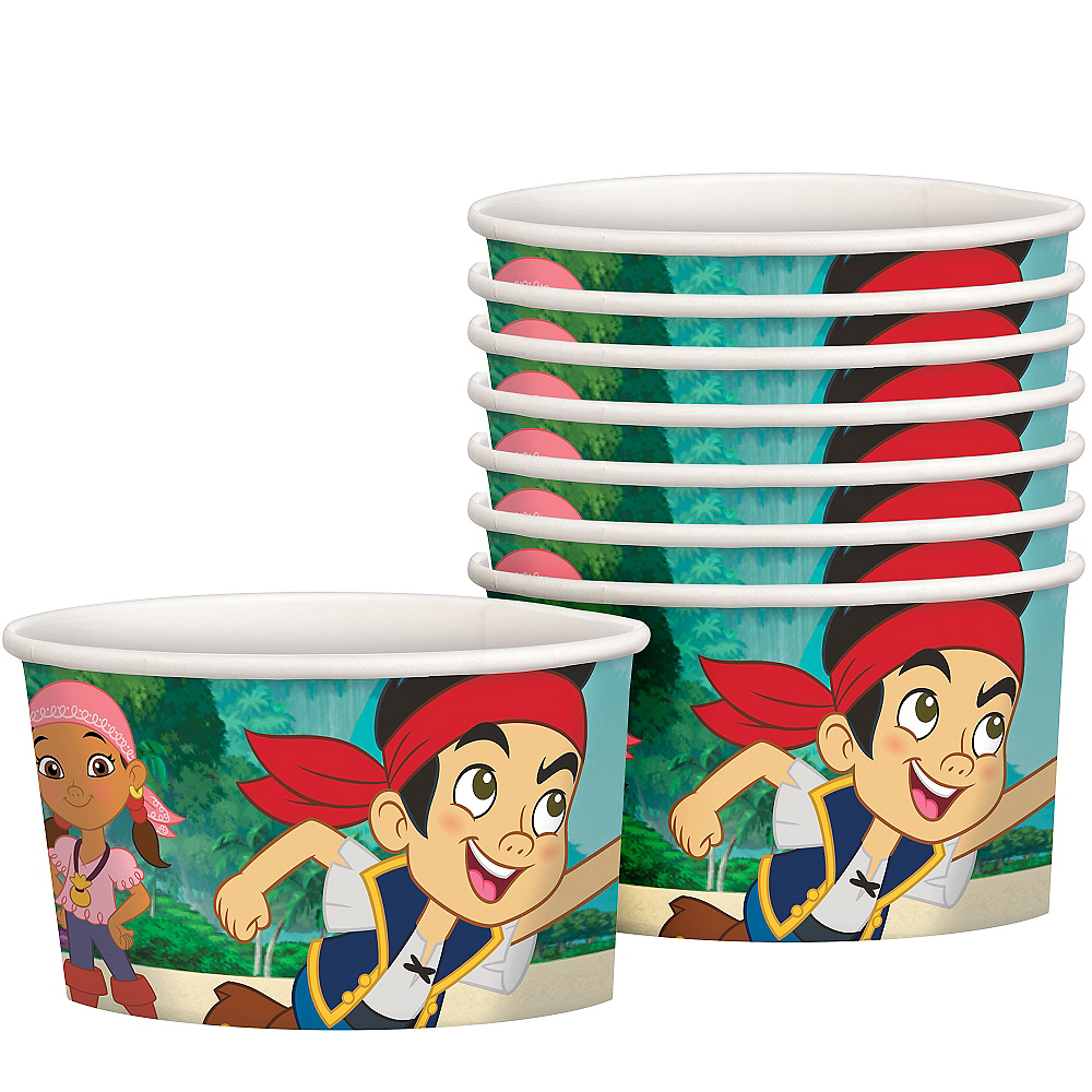 Jake and the Never Land Pirates Treat Cups 8ct Image #1