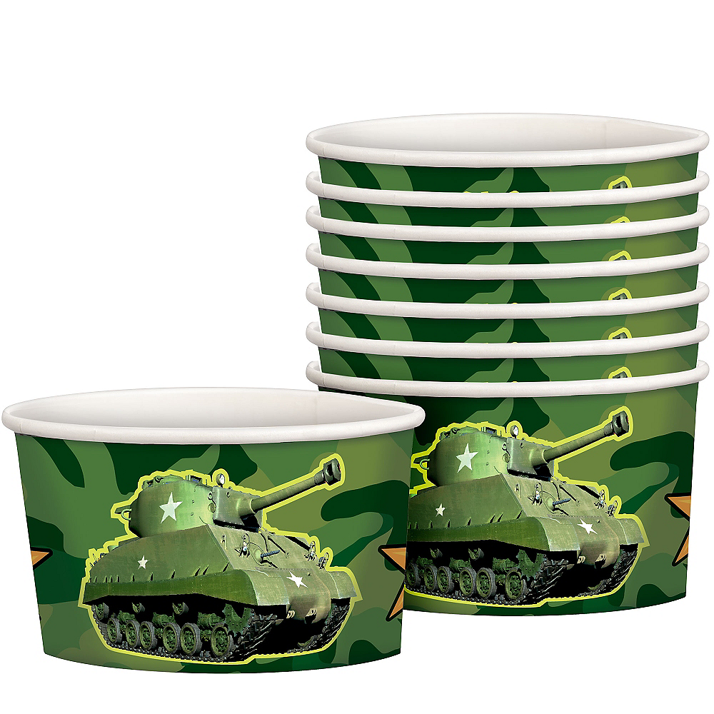 Camouflage Treat Cups 8ct Image #1