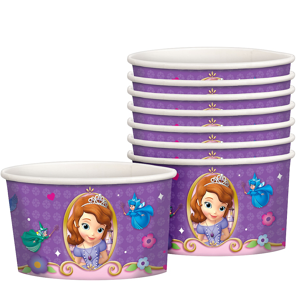Sofia the First Treat Cups 8ct Image #1