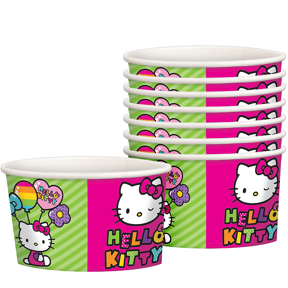 Rainbow Hello Kitty Treat Cups 8ct Image #1