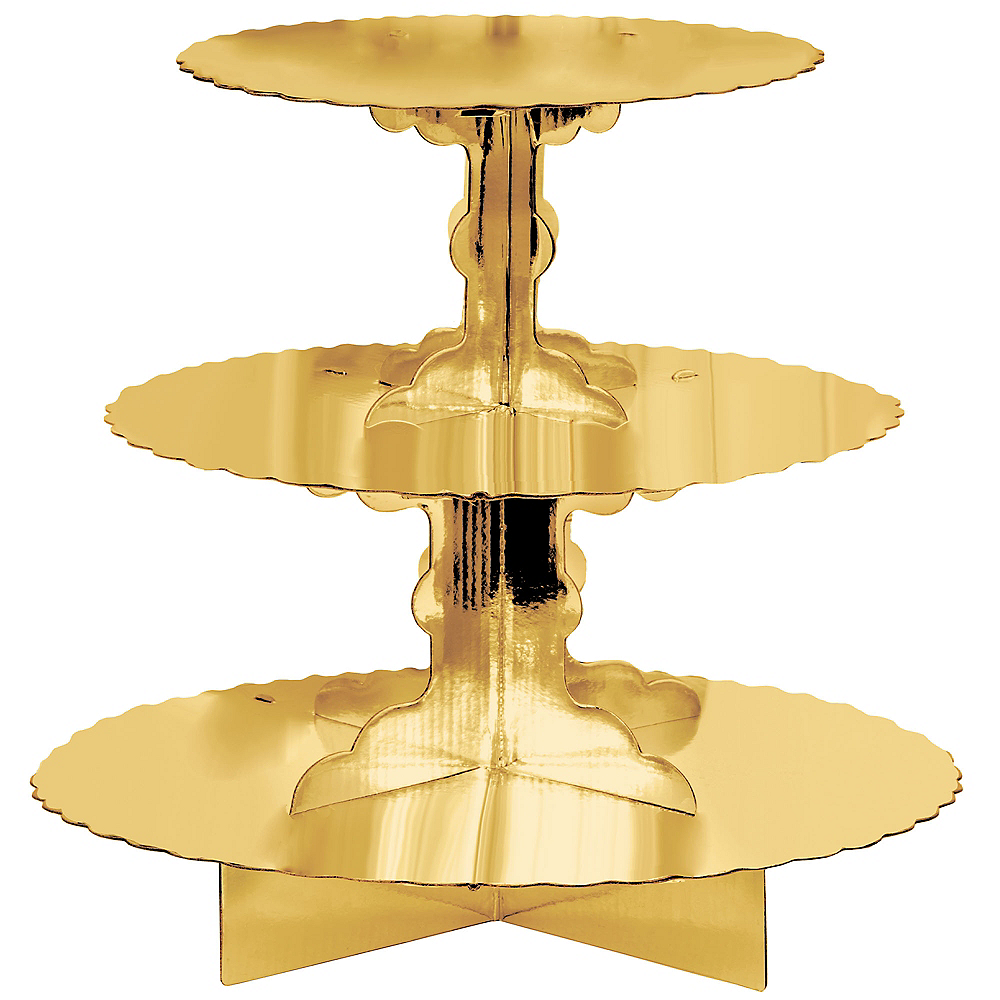 Nav Item for Gold Cupcake Stand Image #1