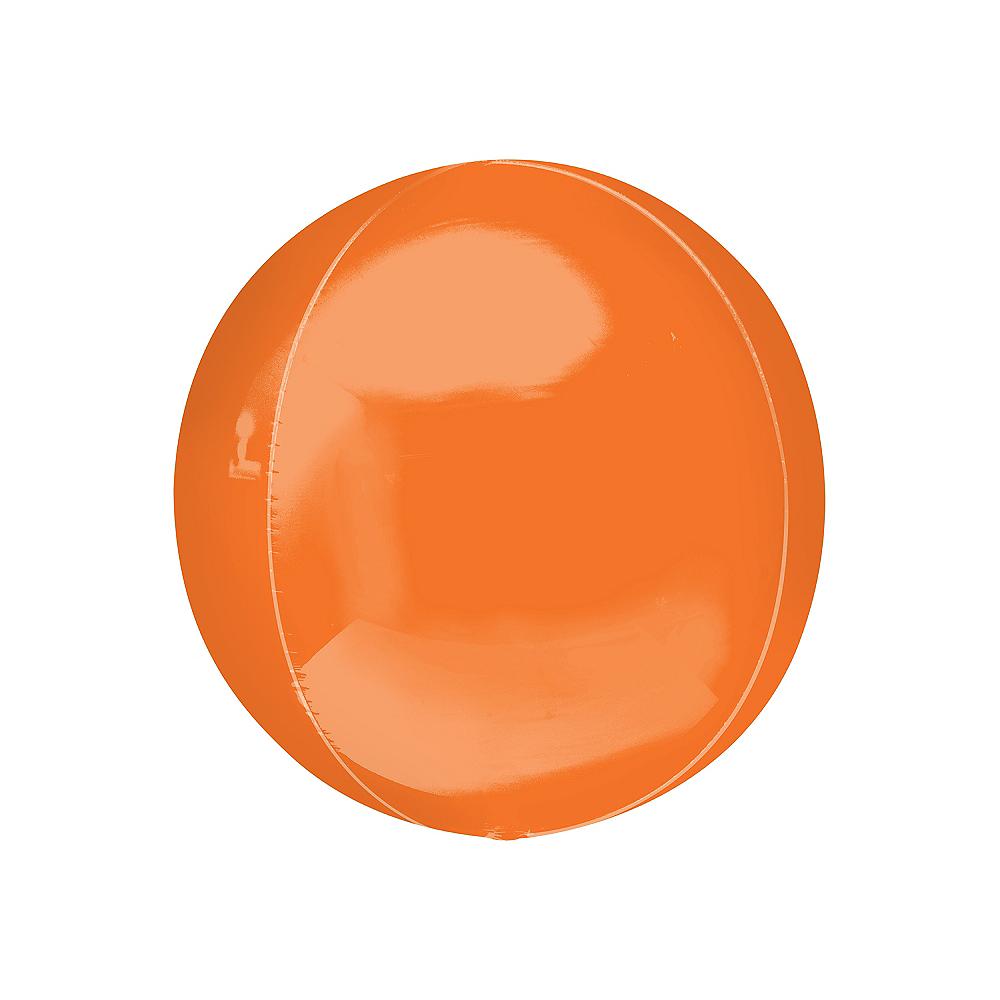 Orange Orbz Balloon, 16in Image #1