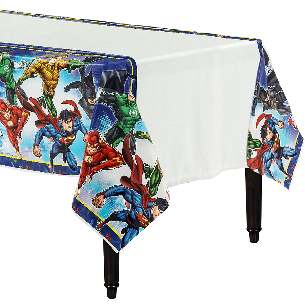 Justice League Table Cover Image #1